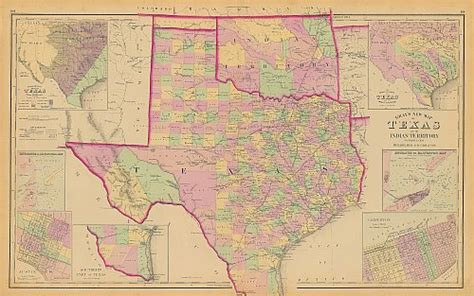 texas indian territory map texas indian territory historical map 1876