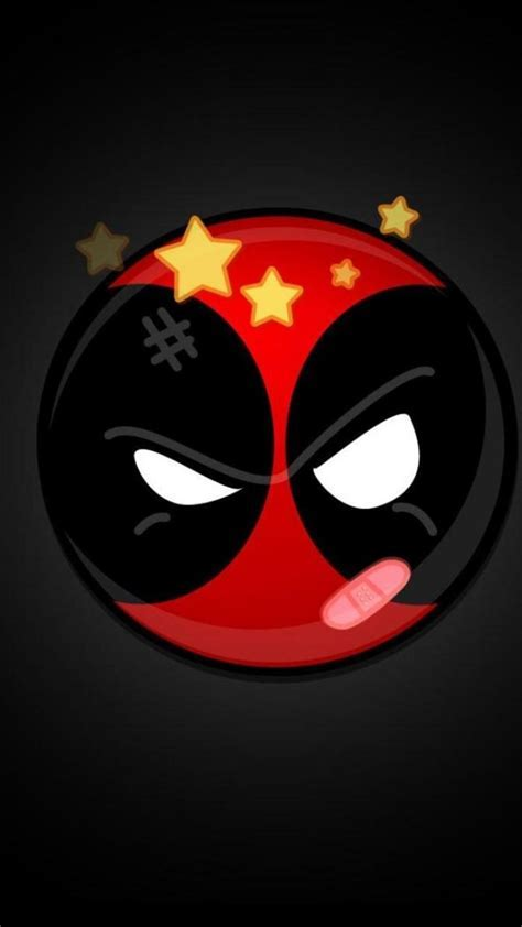 Deadpool logo background wallpaper   (43564)
