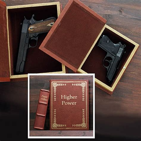 safe books secret compartment hollow book gun safe stashvault