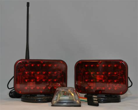 tw48lm wireless led tow truck lights towing light set