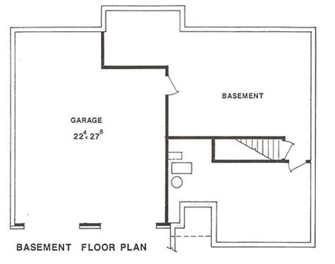 multi level home floor plans multi level house plans home design lp 2601