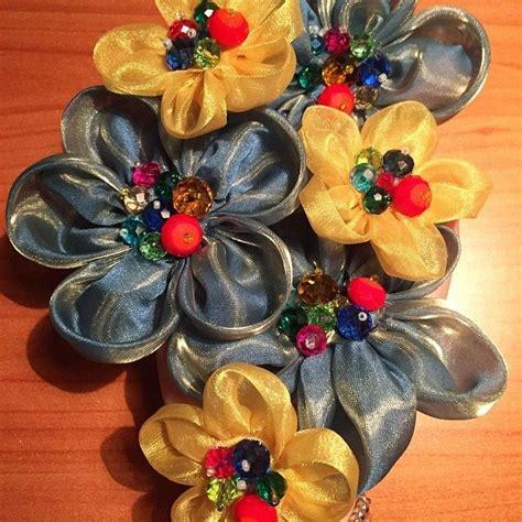 tutorial fiori stoffa tutorial fiori di stoffa come decorazione