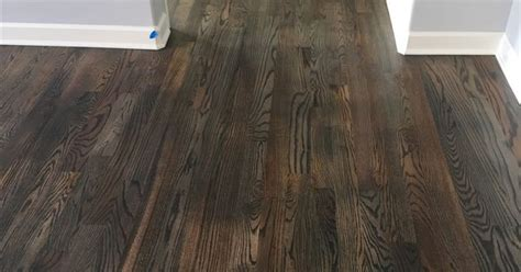 Bona Stain in Driftwood on white oak hardwood floors