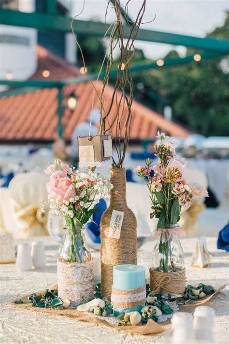 19 lovely summer wedding centerpiece ideas will amaze your - Diy Summer Wedding Centerpiece Ideas
