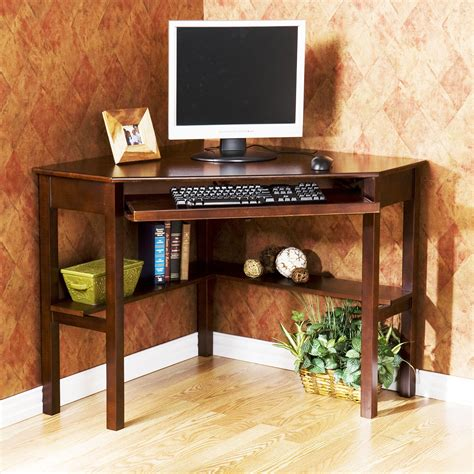 corner wood computer desk solid wood computer desk corner homefurniture org