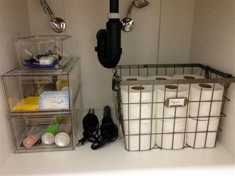 bathroom sink organizer ideas under sink storage super smart ways to organize the space