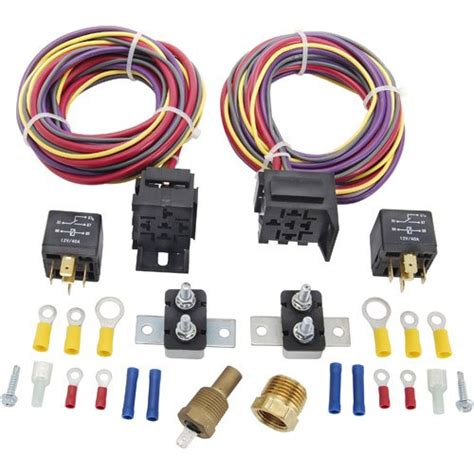 jegs performance products 10570 dual fan wiring harness