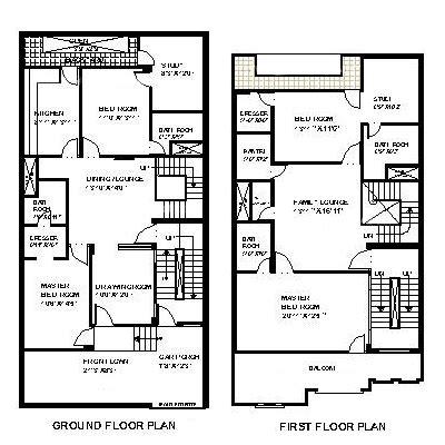 30 feet by 60 feet 30x60 house plan decorch 30 feet by 60 feet 30x60 house plan decorch