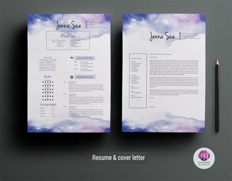 16 Ms Word Resume Templates With The Professional Look Creative Microsoft Word Templates
