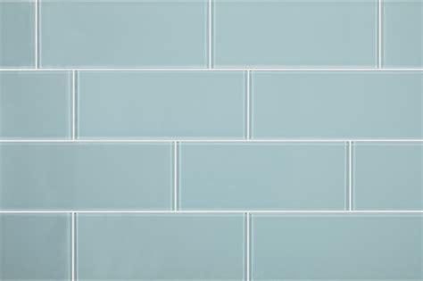 Pale Blue Bedroom 3 quot x8 quot aqua blue glass subway tiles set of 6