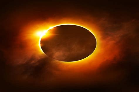 ring of fire african ring of fire to show up at annular solar eclipse