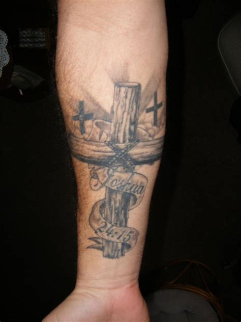 cross arm tattoos christian tattoos designs ideas and meaning tattoos for you