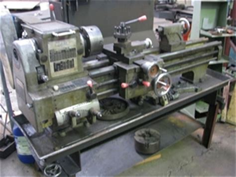 precision bench lathe precision centre bench lathe lam model 350bh approx