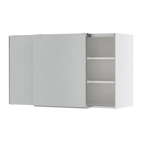 sliding door wall cabinet faktum wall cabinet with sliding doors appl 229 d grey
