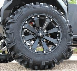 Tires And Rims Kit Pre Mounted Wheel Kits For Polaris Ranger Sidebysidestuff