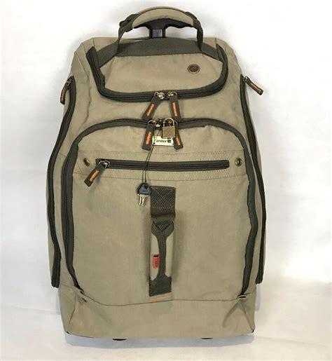 trolley backpack cabin luggage antler 55cm cabin backpack flight trolley suitcase