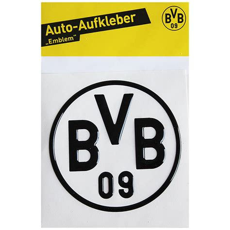 Schalke 04 Aufkleber F Rs Auto by Bvb Borussia Dortmund Aufkleber Bvb Logo 3d Schwarz Neu Ebay