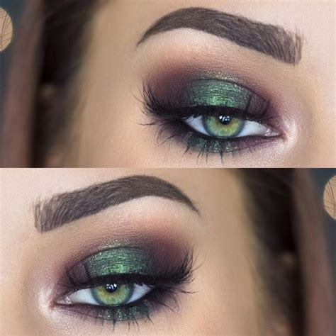 Eyeshadow Or Eyeliner eye makeup for green makeup looks for green
