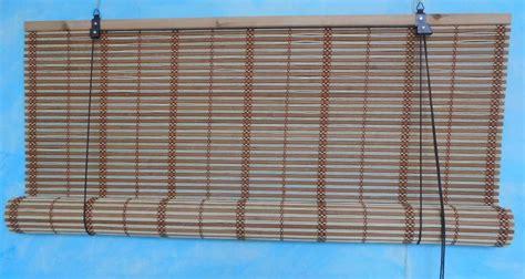 tende bambù vetrina in vetro usata x sala da pranzo
