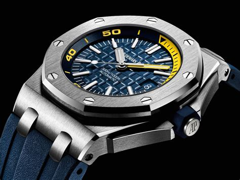 Audemars Piguet Royal Oak Offshore Yellow Swiss Eta 1 1 who makes the best sihh 2017 introducing the audemars piguet royal oak offshore diver quot funky