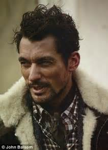 rugged model exclusive so that s why he s a supermodel david gandy is rugged and outdoorsy in shoot