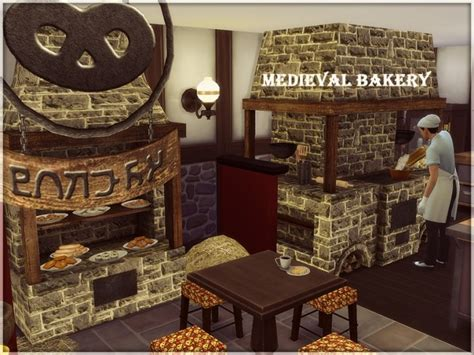Medieval Bakery by Kiolometro at Sims Studio » Sims 4 Updates
