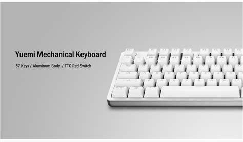 Harga Xiaomi Keyboard Wireless xiaomi yuemi keyboard wireless mouse mouse pad kit