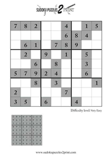 printable sudoku puzzles with answers very easy sudoku with answers www pixshark com images