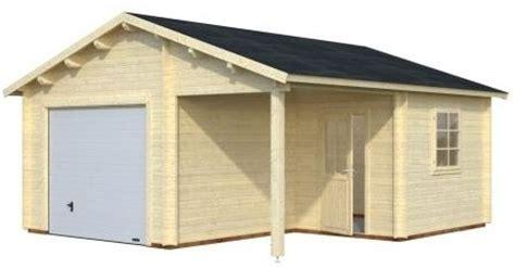 occasion fertiggarage garage bois avec auvent archives abris bois jardin