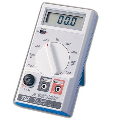 capacitance meter specifications capacitance meter tes 1500 tes electrical electronic corp
