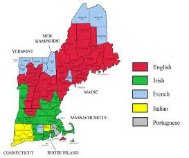 Where Is New England On The Map by New England Population Density Map