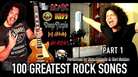 100 best rock songs top 100 greatest rock songs medley part one