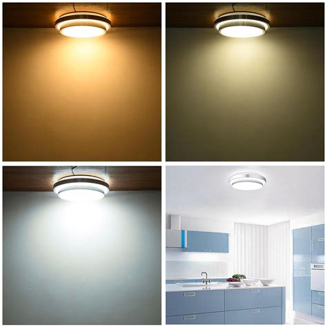 24w led ceiling light fixture 24w 36w 48w modern flush mount led ceiling light pendant chandelier fixture l ebay
