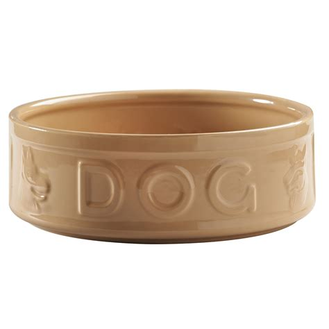 puppy bowls 25cm lettered bowl