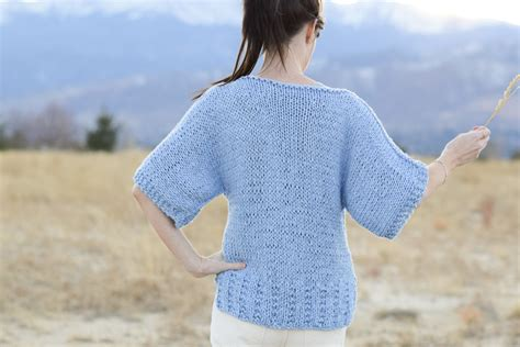jumper knitting pattern for beginners easy knit boxy t shirt quot jeans quot pattern mama in a stitch