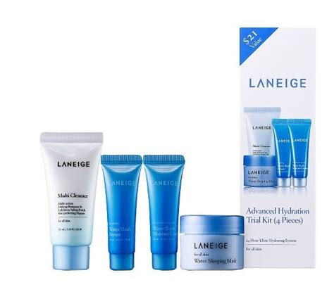 Laneige Trial Kit review laneige