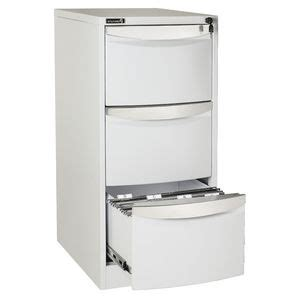 Stilford Filing Cabinet Stilford 3 Drawer Filing Cabinet White Officeworks