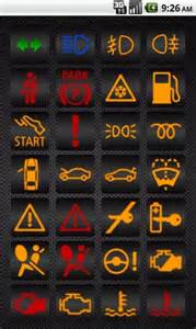 Mini Cooper Dashboard Light Symbols Bmw Warning Ls For Android Appszoom