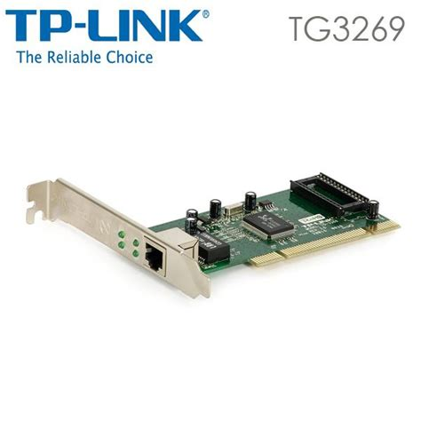 Tp Link Tg 3269 Gigabit Pci Network Adapter Lan Card tp link gigabit pci network adapter tg 3269 3 year warranty 11street malaysia routers