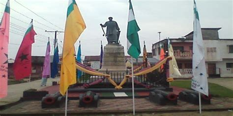 Merchant Prince Of The Niger Delta statue of king jaja of opobo rivers state nigeria