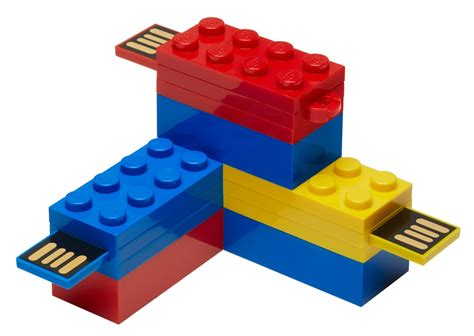 Lego A the brickverse new lego usb bricks