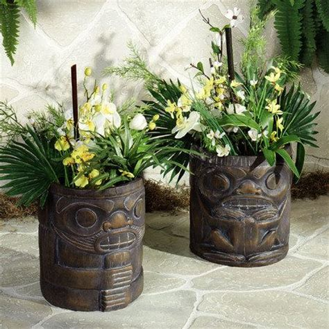 Tiki Planters by The World S Catalog Of Ideas
