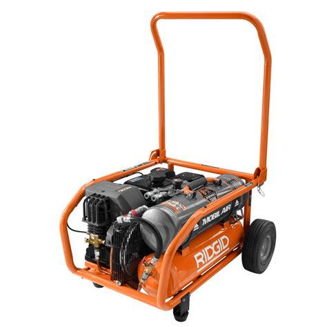 ridgid zero gravity 8 gal gas power air compressor pressure regulator electric 648846066400 ebay