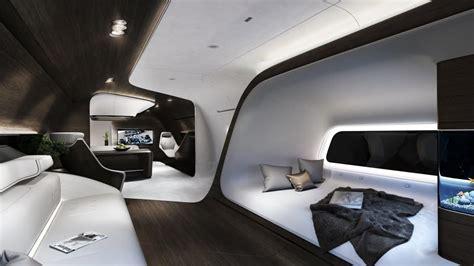 Jet Interior Layout by Mercedes Unveils A Dazzling New Jet Interior