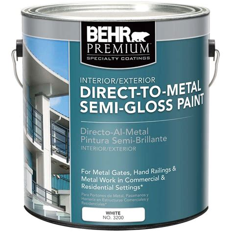 exterior primer paint behr 1 gal ae 34 meadow green semi gloss enamel alkyd