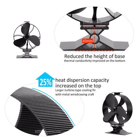 fans to circulate heat 50 start heat powered stove fan eco fan wood stove top