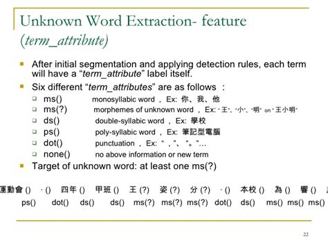 unknown verb pattern perl pattern mining to unknown word extraction 10
