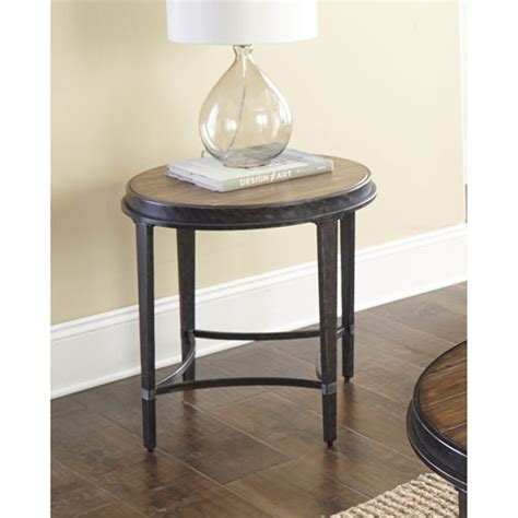 stave end table outdoor