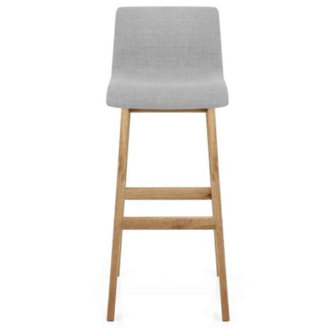 light grey bar stools drift oak light grey fabric stool atlantic shopping