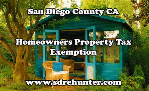 San Diego Ca Property Records San Diego County Ca Homeowners Property Tax Exemption 2017 Update